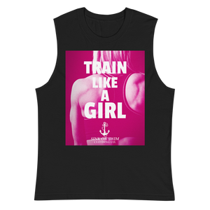 Sink Or Swim Clothing Co. Train Like A Girl Power Muscle Shirt