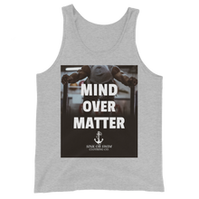 Load image into Gallery viewer, Sink Or Swim Clothing Co. Mind Over Matter Unisex Tank Top