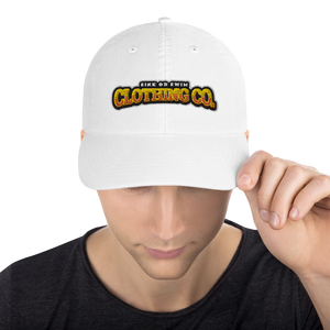 Sink Or Swim Clothing Co. X Champion Gold Dad Cap