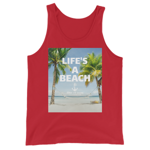 Sink Or Swim Clothing Co. Life's A Beach Relax Unisex Tank Top