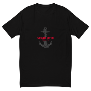 Anchored Sink Or Swim Clothing Co. Short Sleeve T-shirt