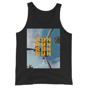 Sink Or Swim Clothing Co. Golden Run Unisex Tank Top