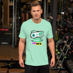Sink Or Swim Clothing Co. Made in the 90's Retro Game Console Short-Sleeve Unisex T-Shirt