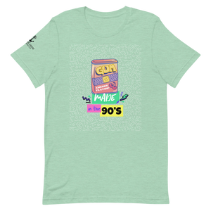 Sink Or Swim Clothing Co. Made in the 90's Gum Short-Sleeve Unisex T-Shirt