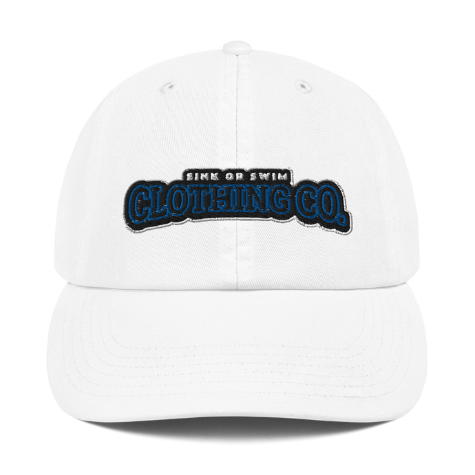 Sink Or Swim Clothing Co. X Champion Navy Blue Dad Cap