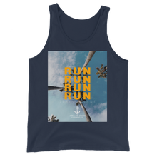 Load image into Gallery viewer, Sink Or Swim Clothing Co. Golden Run Unisex Tank Top