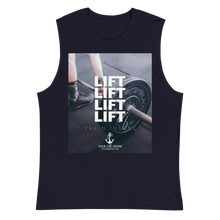 Load image into Gallery viewer, Sink Or Swim Clothing Co. LIFT Muscle Shirt