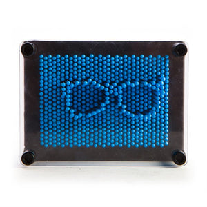 Neon Pin Art - Blue