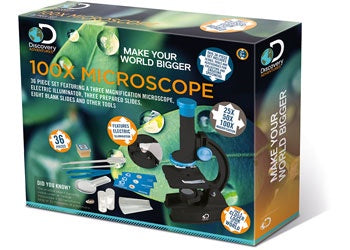 Discovery 100x Microscope: 36 Pieces