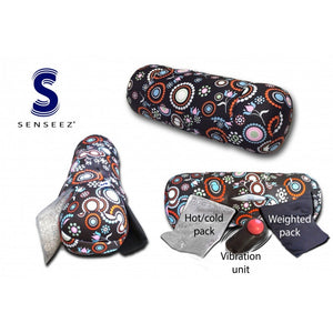 Senseez Adaptables Flower Weighted Therapeutic Vibrating Pillow
