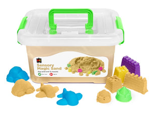 Sensory Magic Sand Natural with Moulds 2Kg