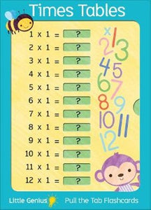 Little Genius Giant Flash Cards - Times Tables