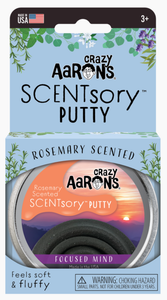 Crazy Aaron's Thinking Putty: Focused Mind - Rosemary Scented