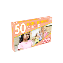 Load image into Gallery viewer, Junior Learning 50 Social Scenario Activities