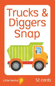 Little Genius Trucks and Diggers Snap