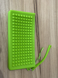 Sensory Small Pencil Case - Lime Green