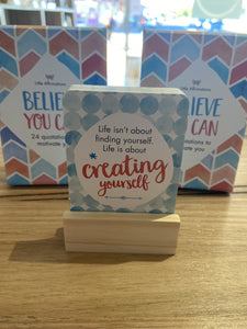 Little Affirmations - Believe You Can: 24 Motivational Quotes
