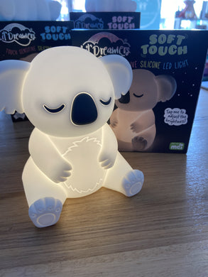 Lil Dreamers Soft Touch Silicone Koala LED Night Light