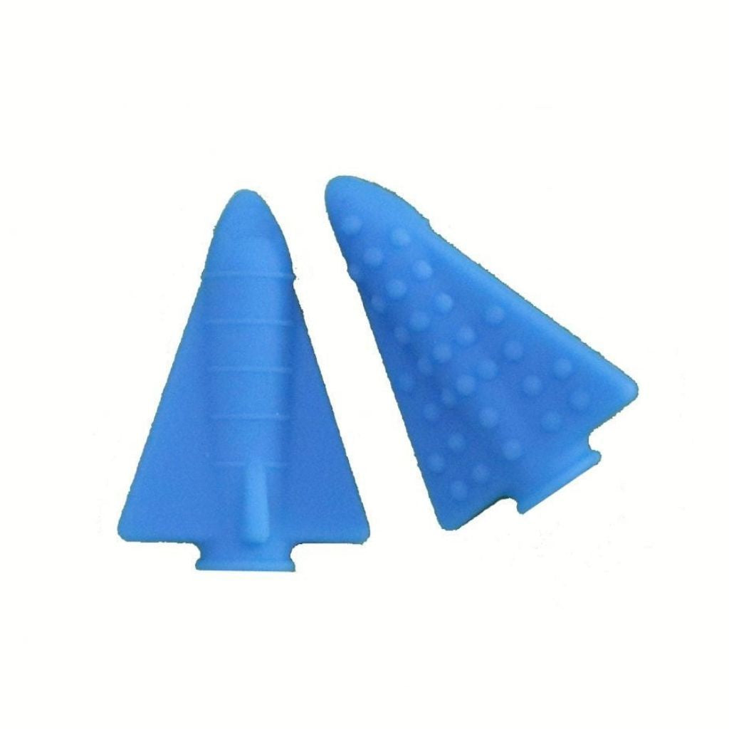 Rocket Pencil Topper - Blue Hawaiian