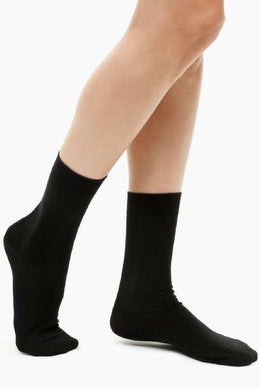 CalmCare Kids Sensory Black School Socks Ages 10+ (Size 3-8)