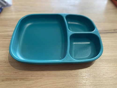 Re-Play Divided Tray Teal