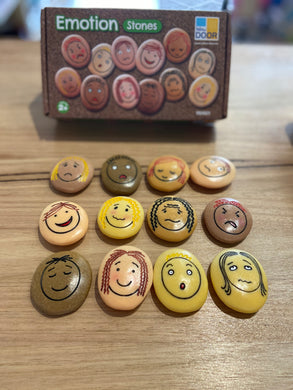 Emotion Stones Set of 12 Faces