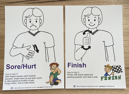 AUSLAN Flashcards for beginners