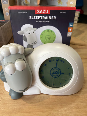 ZAZU Sleep trainer / Clock Sam the Lamb  - GREY