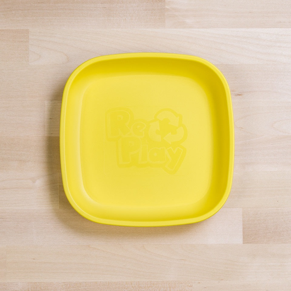 Re-Play Flat Plate - Yellow