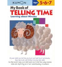 Kumon My Book of Telling Time
