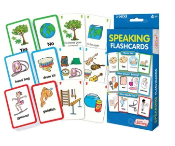 Junior Learning Speaking Flashcards