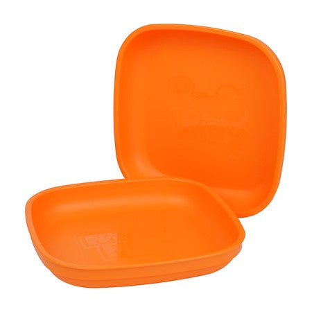 Re-Play Large Flat Plate - Orange