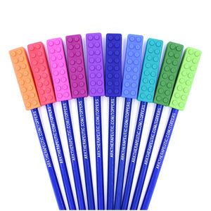 Ark BRICK STICK® CHEWABLE PENCIL TOPPER: Lavender/Purple XXT
