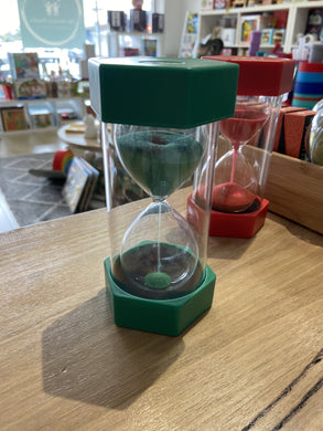 Coloured Sand Timer - Green 10 Minutes