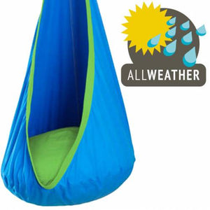 Blue / Green Sensory Swing Pod Chair