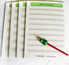 Handwriting Guideline Pad 24mm (Yrs 1-2)