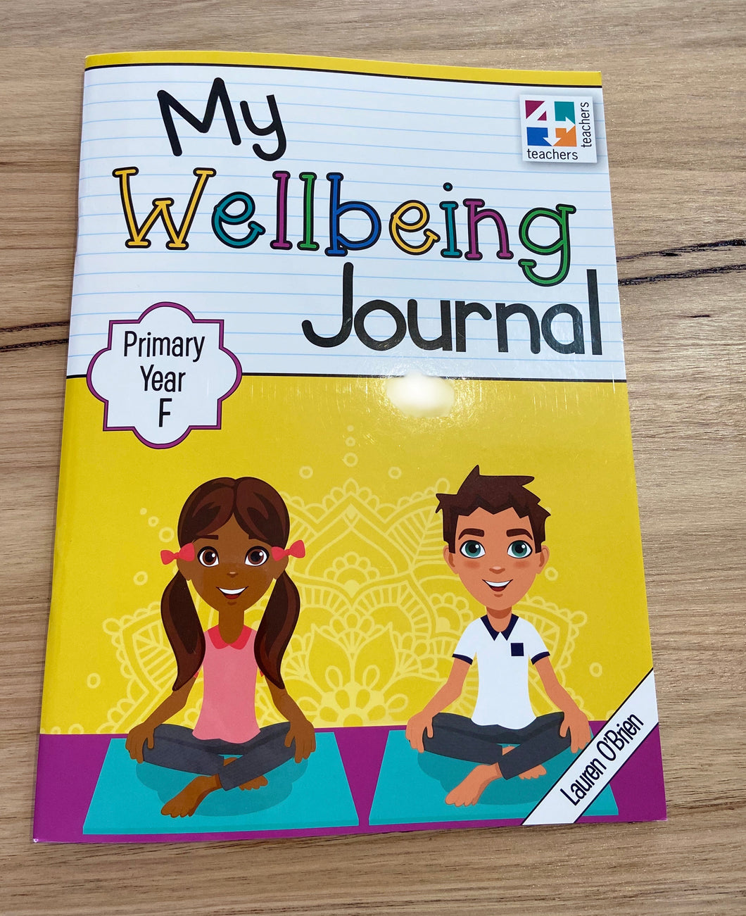 My Wellbeing Journal School Years Foundation