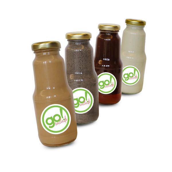 Asian Dressing Bottles Bundle - Go! Salads Grocer