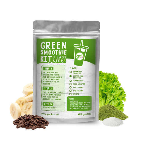 Coffee Kick Smoothie Kit - Go! Salads Grocer