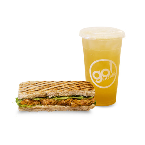 Barbeque Chicken Panini Combo - Go! Salads Grocer