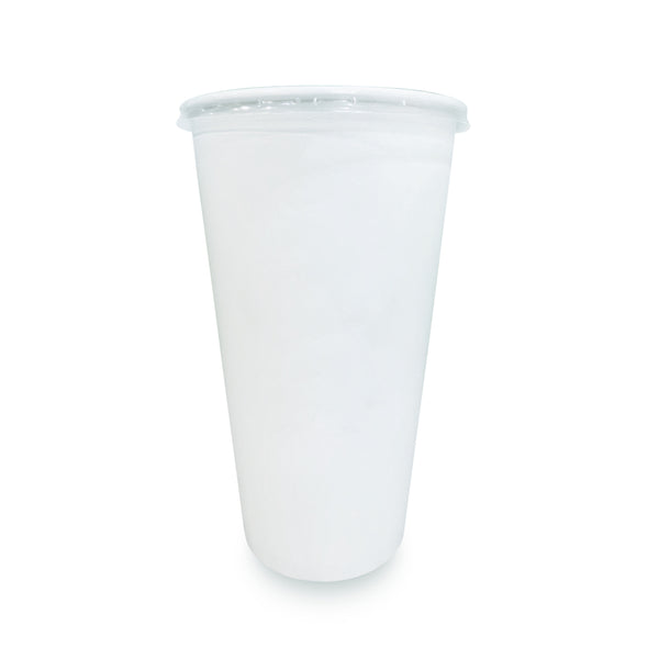 Paper Cup with Lid (22 oz) - Go! Salads Grocer