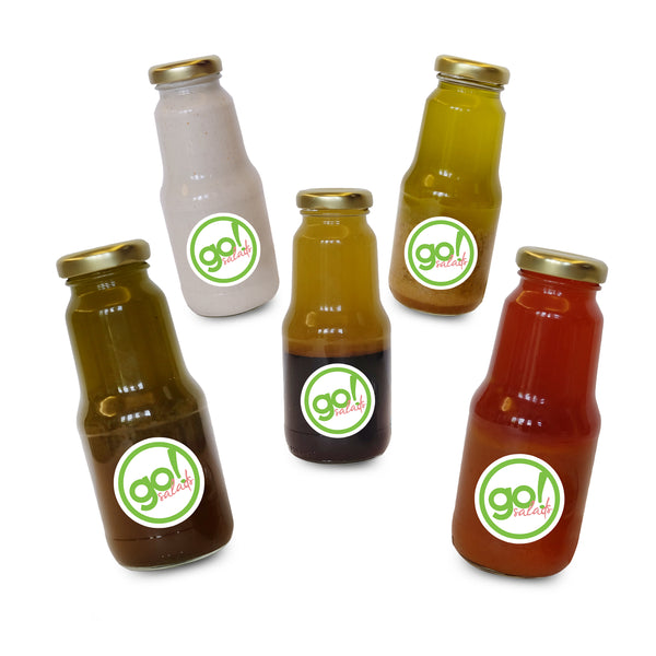 Western Dressing Bottles Bundle - Go! Salads Grocer