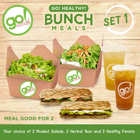 Bunch Meals Set 1 - Go! Salads Grocer