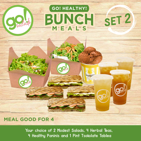 Bunch Meals Set 2 - Go! Salads Grocer