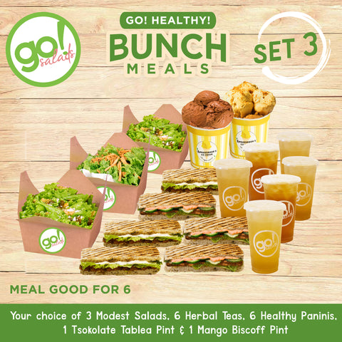 Bunch Meals Set 3 - Go! Salads Grocer
