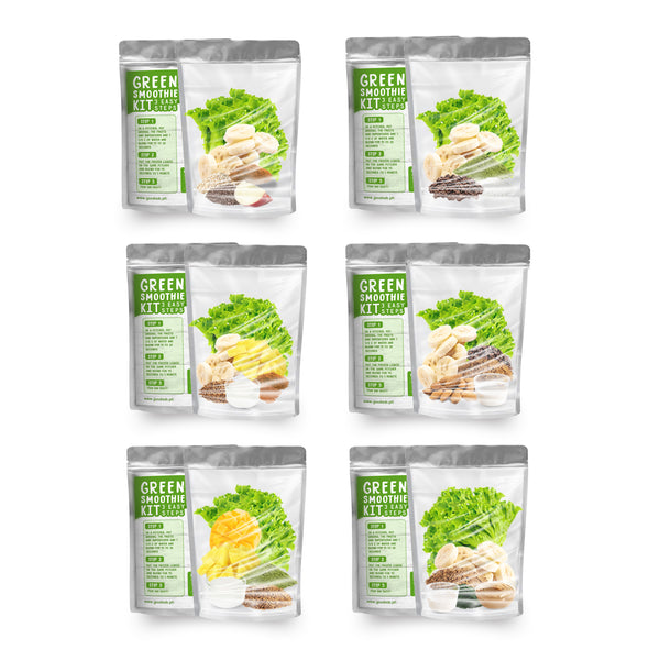 Green Smoothie Kit Merch Set - Go! Salads Grocer