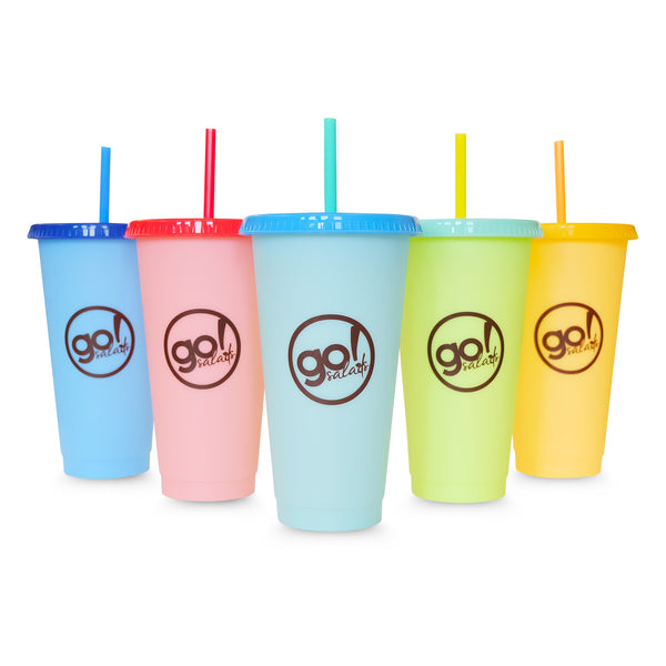 Color Changing Tumblers - Go! Salads Grocer
