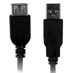 Cabo Extensor USB A Macho x A Fêmea 1,8m Plus Cable - PC-USB1802