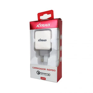 Carregador de Tomada USB 2.4A Qualcomm Quick Charge 3.0 XTrad - CH0426