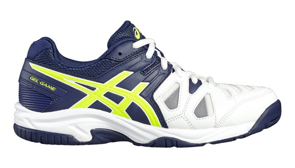 Asics Gel-Game 5GS Kids Tennis Shoes (C502Y-0149)